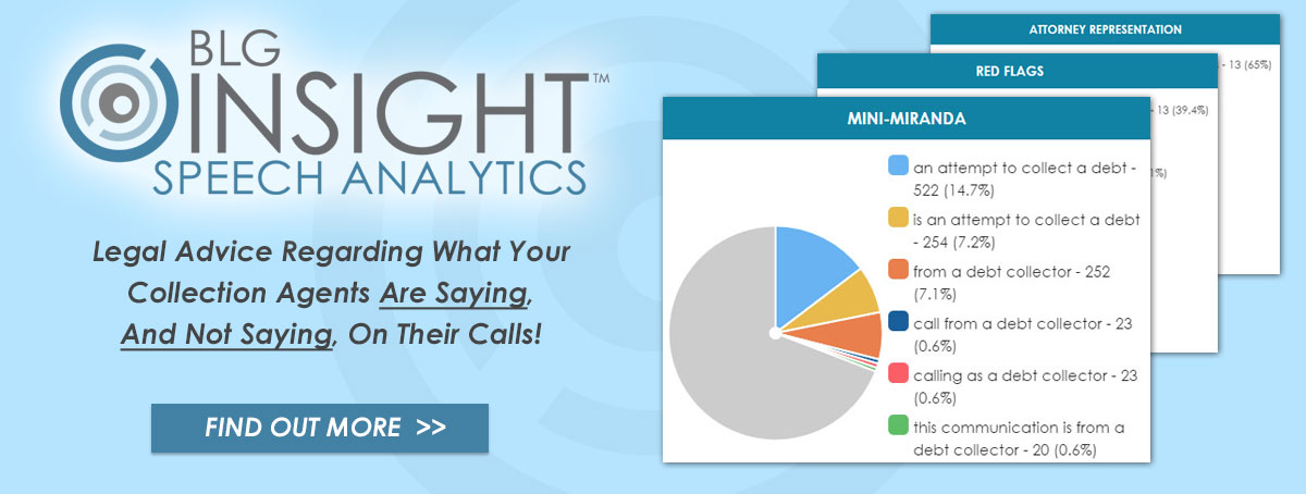 Bedard Law Group Insight Speech Analytics