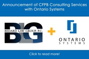 Bedard Law Group Partners with Ontario Systems